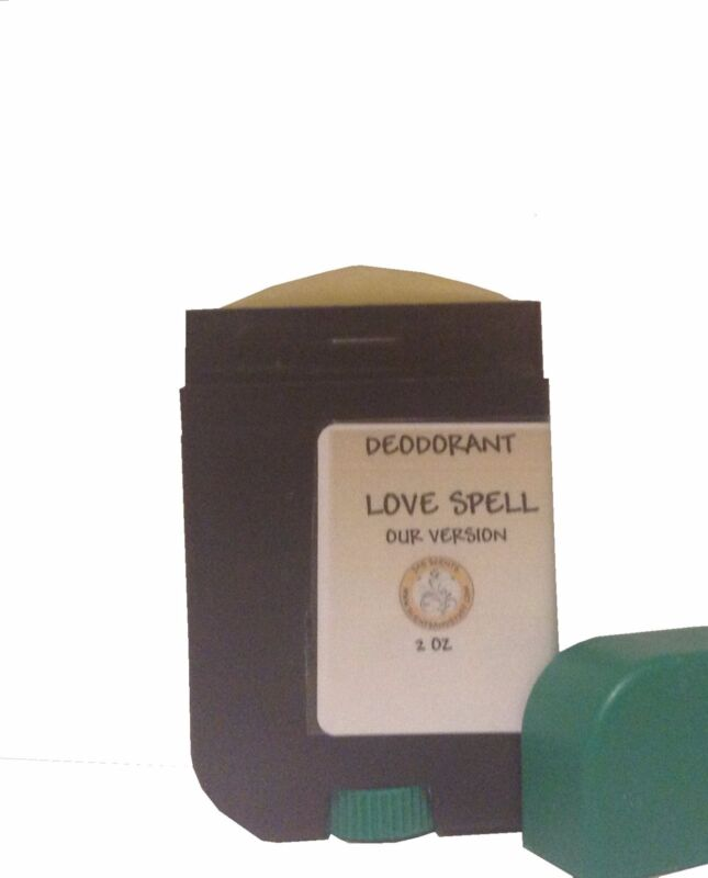 Deodorant Scented 2 oz Aluminum Free Deodorant Designer Type- U Pick Scent