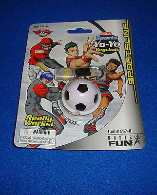 Duncan Sports Yo-Yo Soccer Keychain by Basic Fun MOC