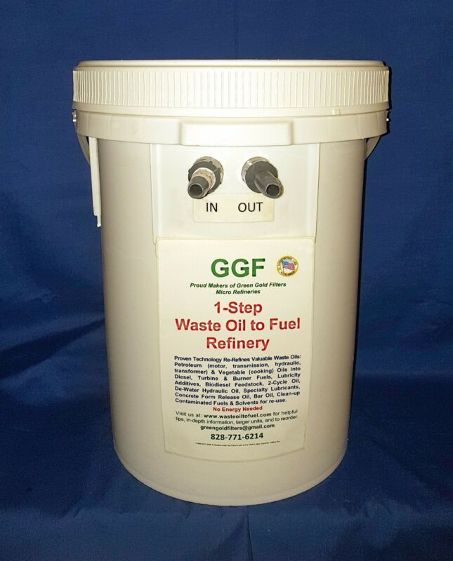 One-Step Waste Motor Oil WMO Refinery WMO Filter Black Diesel