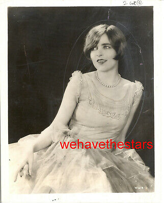 Vintage Blanche Sweet BEAUTY '29 WOMAN IN WHITE Publicity Portrait