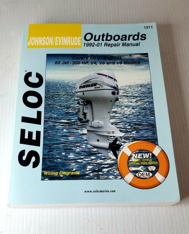 Seloc Marine Outboard Repair Manual for Johnson/Evinrude