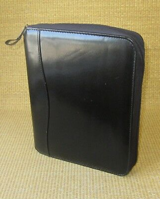 Classic 1.25 Rings Black Durable Sim. Leather Franklin Covey Plannerbinder