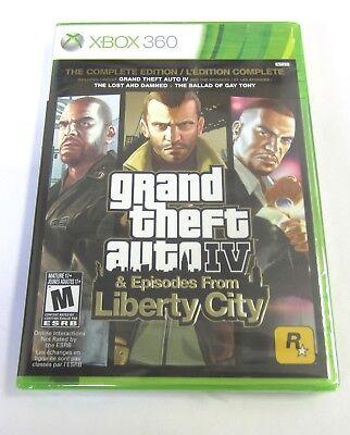 Grand Theft Auto IV  GTA 4 -- Complete Edition (Microsoft Xbox 360, (Grand Theft Auto Complete Edition Xbox 360)