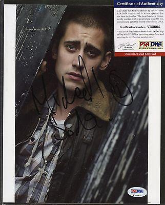 Michael Socha Signed 8x10 Photo PSA/DNA COA Autograph AUTO