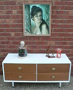 Retro Vintage Chest of Drawers Dressing Table TV Stand by Alrob Wantirna South Knox Area Preview