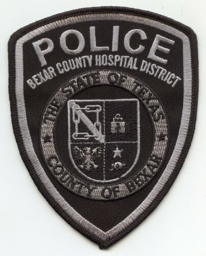 BEXAR COUNTY TEXAS TX subdued HOSPITAL DISTRICT POLICE PATCH