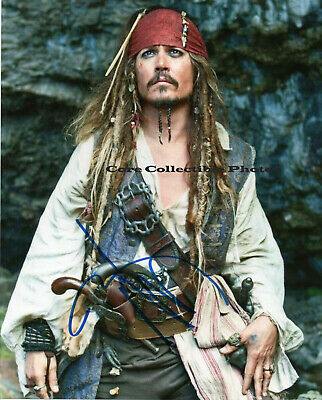 Johnny Depp autographed SIGNED 8x10 RP photo