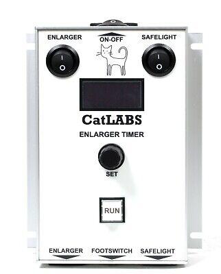 CatLABS Universal Digital Darkroom Timer (for any enlarger and safelight, CET01) for sale  Shipping to United Kingdom