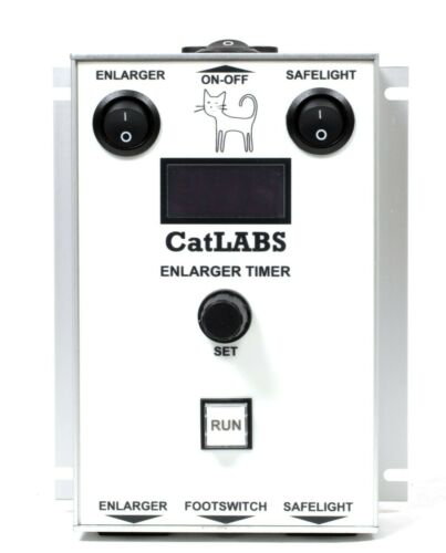 CatLABS Universal Digital Enlarger/Safelight Darkroom Timer (w/ new F-Stop opt.)