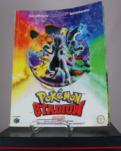 Nintendo Pokemon Stadium Offizieller GameBoy Color Spieleberater