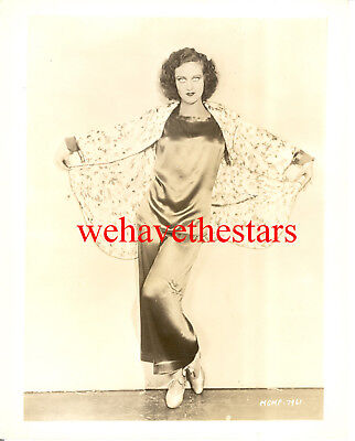 Vintage Joan Crawford EARLY 30s MGM FASHION Publicity Portrait