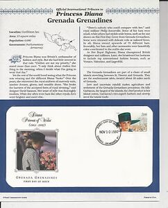 GRENADA-GRENADINES-PRINCESS-DIANA-MEMORIAL-First-Day-Cover-8687
