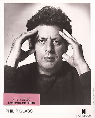 philip glass limited edition press kit #4