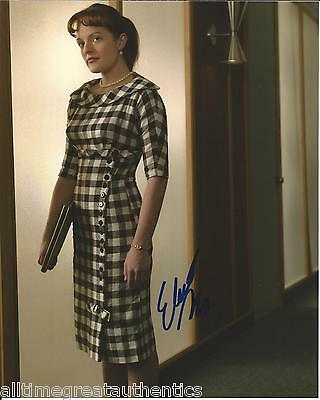 Elisabeth Moss Hand Signed Authentic Mad Men Peggy West Wing 8X10 Photo W Coa
