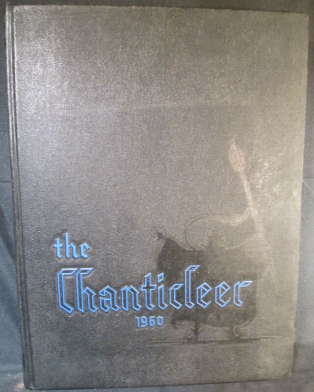The Chanticleer 1960 Duke University Yearbook Durham North Carolina
