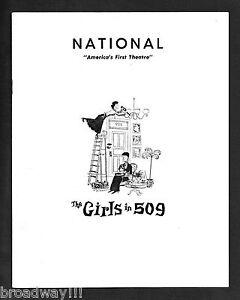 Peggy-Wood-GIRLS-IN-509-Imogene-Coca-1958-Washington-D-C-Tryout-Playbill