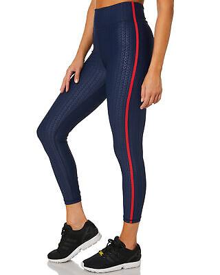 The Upside NEW Liegia Midi Dance Blue Pant Leggings Sz S NWT $121