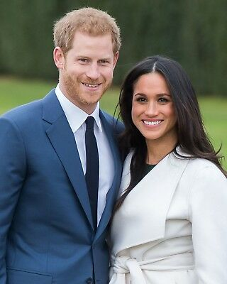 Prince Harry And Meghan Markle 8 X 10   8X10 Glossy Photo Picture