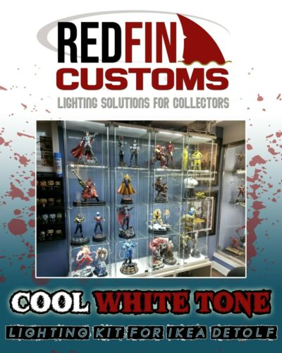 LED Lighting For IKEA Detolf Redfin Mako V.1 - Cool White
