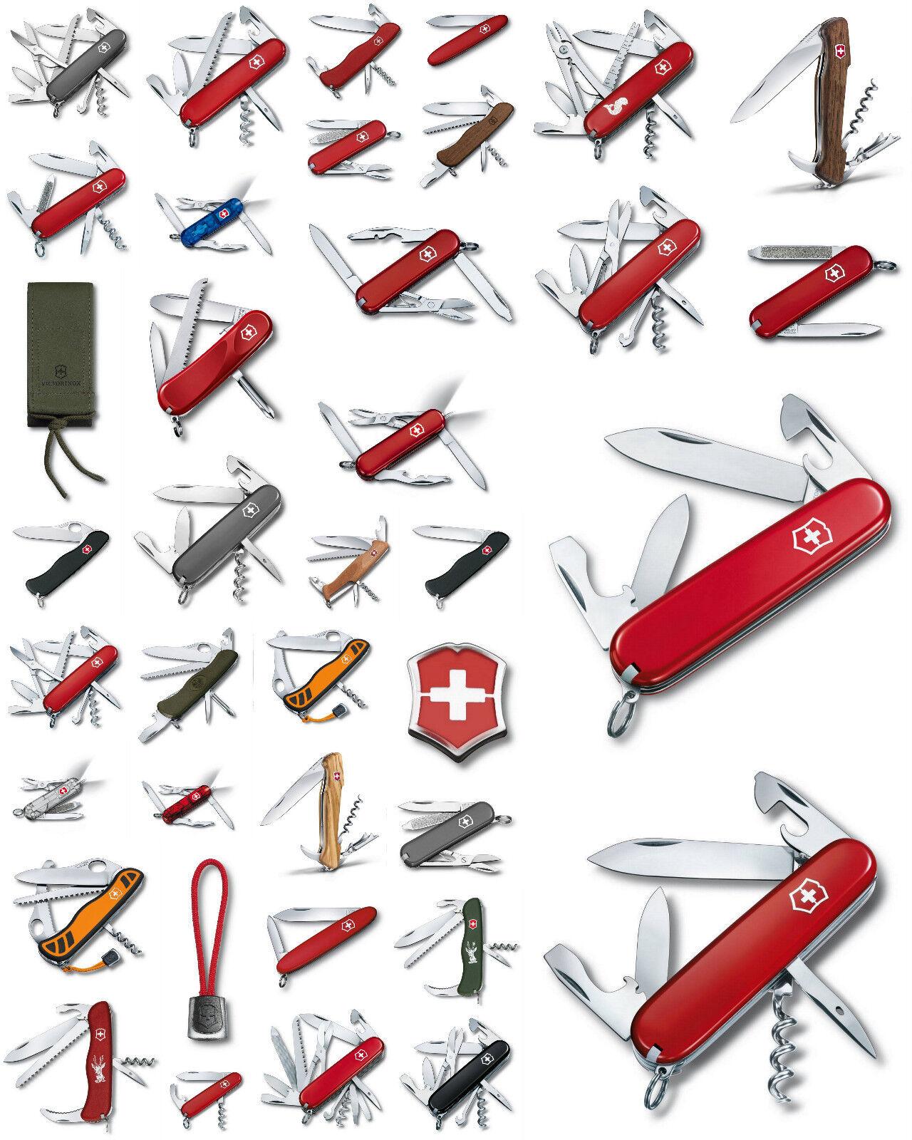 Victorinox Schweizer Taschen Messer Offizier Angler Jagd Zubehör versch Modelle