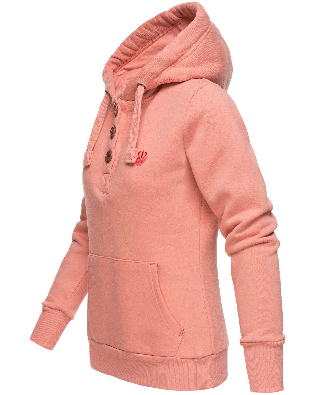 Marikoo Damen Sweatshirt Kapuzenpullover Sweatshirt Hoodie Pulli Sweater Yurikoo