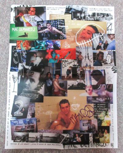 *Still Together* Mac DeMarco Signed Album TWO Insert 18x24 Poster Vinyl LP COA