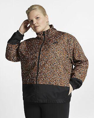 Nike Sportswear Womens Unrefined Print Woven Jacket Plus Size 3X CI0184-754