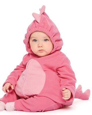 Carters Halloween Costume Baby Girl Pink Dinosaur 3 6 9 12 18 24 Months