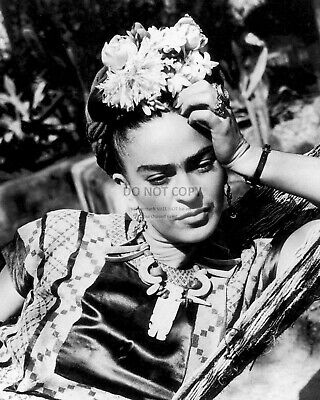 FRIDA KAHLO MEXICAN PAINTER - 8X10 PHOTO (WW165) - Frida Kahlo Photographs