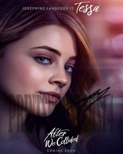 Josephine Langford 11x14 SIGNED REPRINT Tessa After We Collided Movie Netflix #1