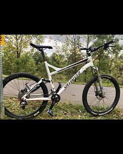 Full suspension Specialized Epic with many upgrades