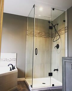 Frameless All Glass Showers and Doors
