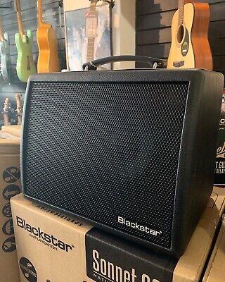 Blackstar Sonnet 60 Acoustic Guitar Amplifier Combo (Black) UK Seller