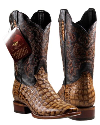 Mens, Cowboy, Rodeo, Boots, El, General, Caiman, Print, Cognac, Imitacion, Caiman