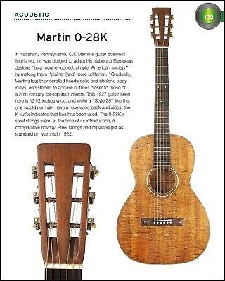 1927 Martin 0-28K Koa 1942 0-15 mahogany vintage acoustic guitar history article