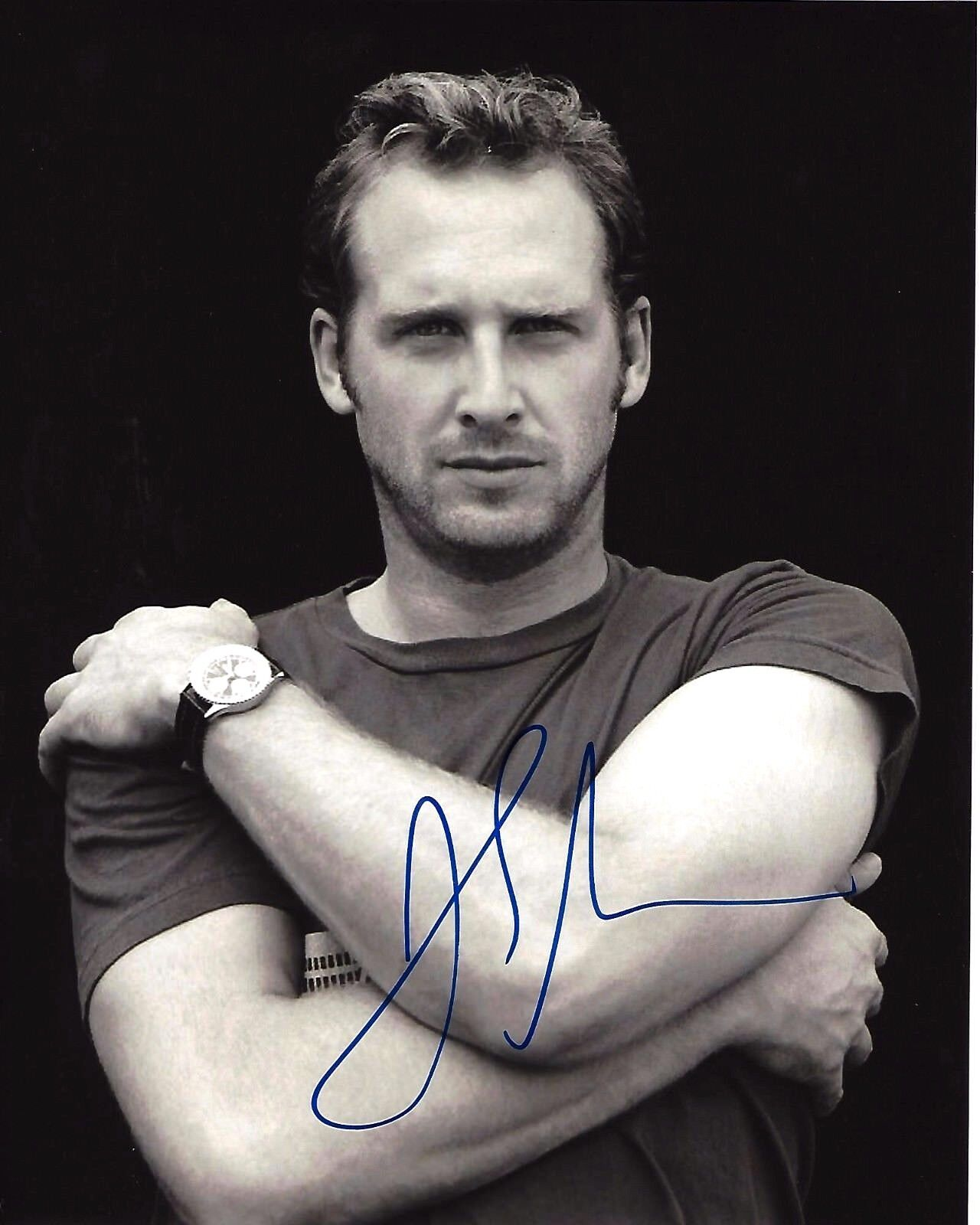 Josh lucas hand signed authentic stealth 8x10 photo b w/coa glory road actor