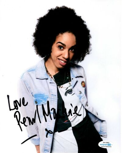 Pearl Mackie Doctor Who Autographed Signed 8x10 Photo ACOA #2