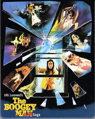 The Boogeyman Saga , Part 1-3 , 4 discs limited Steelbook , uncut , Blu-ray+DVD