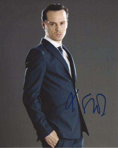 ACTOR ANDREW SCOTT SIGNED SHERLOCK 8X10 PHOTO C W/COA SPECTRE JAMES BOND MOVIE