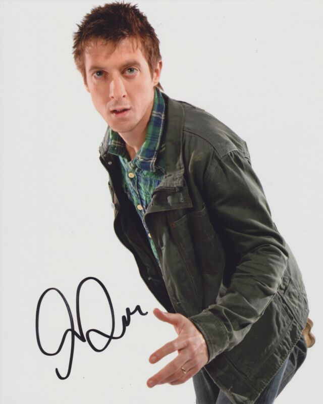 ARTHUR DARVILL SIGNED DOCTOR WHO 8X10 PHOTO 2