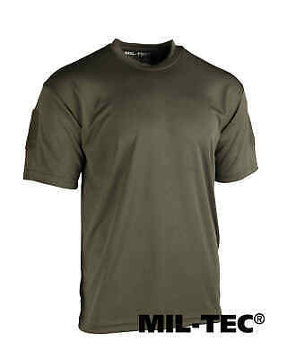 Basic Tactical Shirt (Mil-Tec TACTICAL QUICK DRY T-SHIRT OLIV T-Shirt basic)