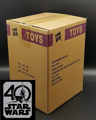 Black Series 40th Anniversary Wave 2 *SEALED CASE* set of 8 figures! AFA ready!