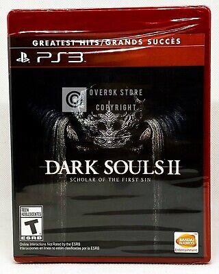 Dark Souls II Scholar of the First Sin - PS3 - Brand New - Spanish Cover comprar usado  Enviando para Brazil