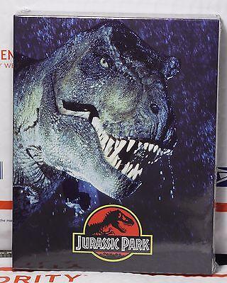 Jurassic Park Blu Ray Full Slip Steelbook  W Lenti Magnet  Fac  65 Only 801