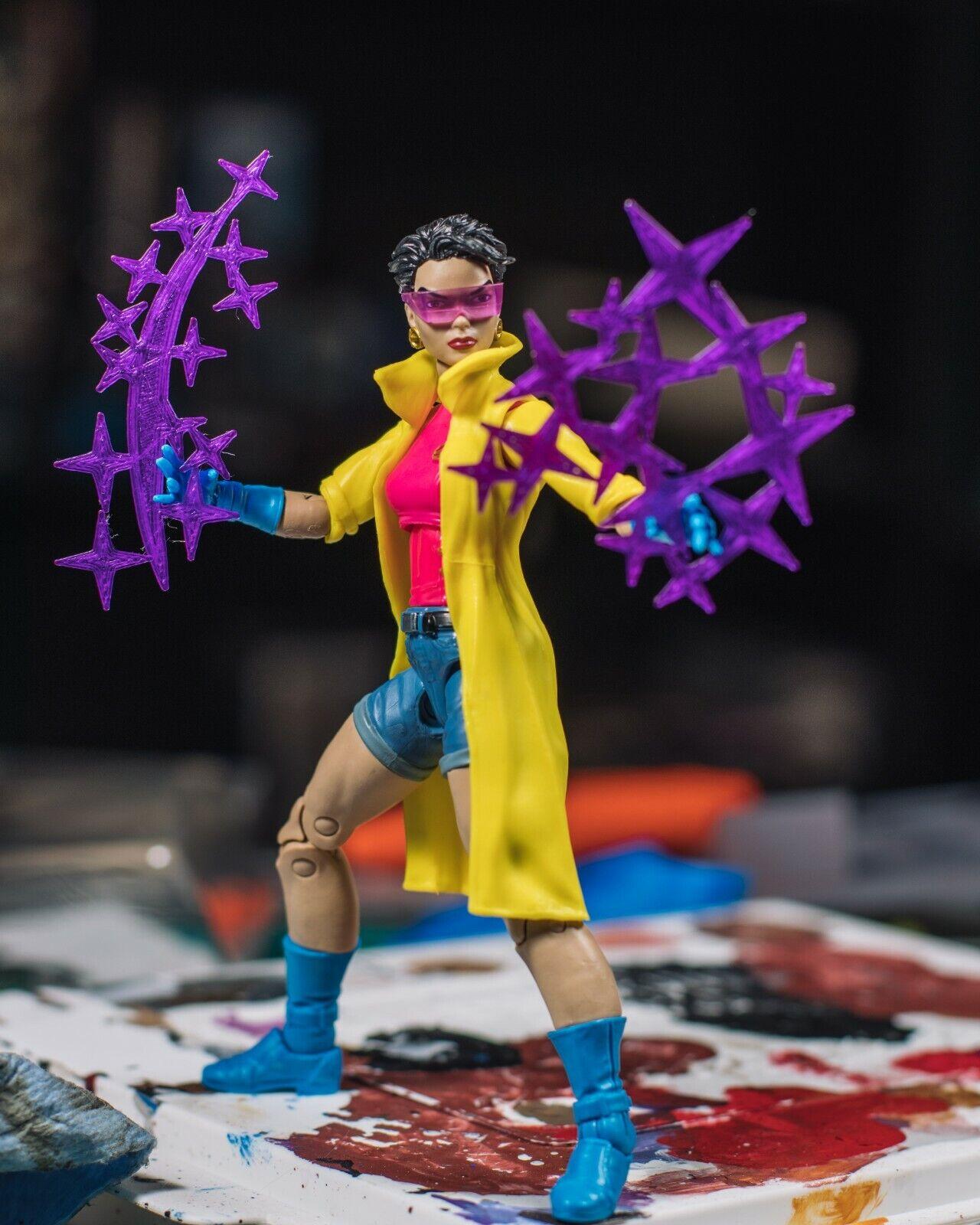 Jubilee Purple Fireworks 2 Pack EFFECTS ONLY Mezco, Marvel L
