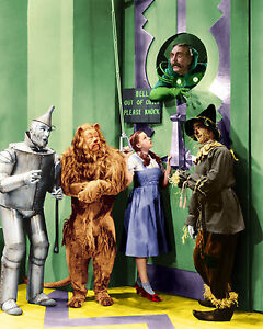WIZARD OF OZ CAST 8X10 GLOSSY PHOTO PICTURE