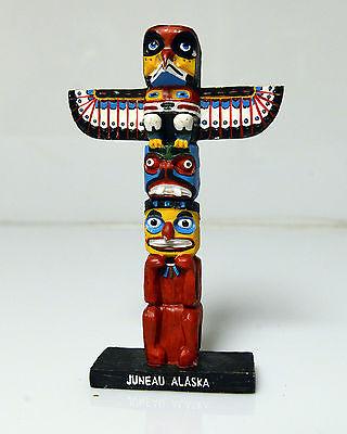 """Alaskan Totem Pole 6.5"""" Tall Juneau"""