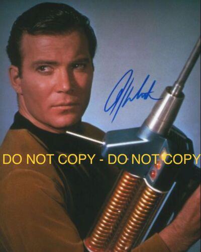 WILLIAM SHATNER, CPT JAMES T KIRK, STAR TREK, HAND SIGNED 8X10 PHOTO W/COA - $21.63