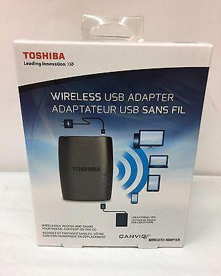 Original Toshiba Canvio Wireless Adapter for External Hard Drives HDWW100XKWF1