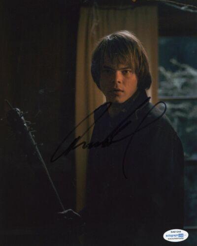 Charlie Heaton Stranger Things Autographed Signed 8x10 Photo COA #2